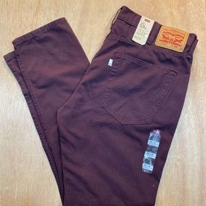 512 Slim Taper LEVIS size 38 length 32